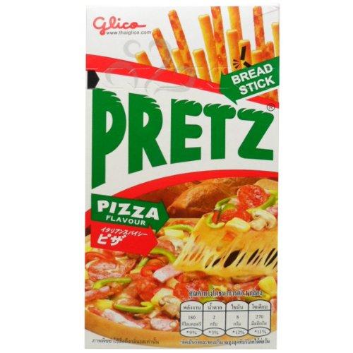 (Glico Pretz Bread Stick Pizza Flavour 36 G (1.27 Oz) X 5 Boxes)