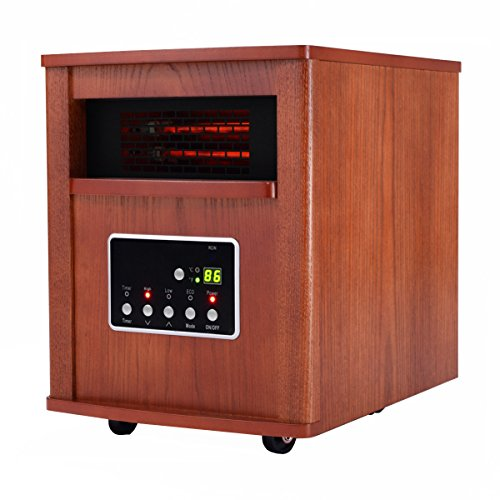 NEW 1800 Sq. Ft Electric Portable Quartz Tube Space Heater Home Furniture W/Remote (Oil Heater For Garage compare prices)