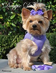 CHOKE FREE REFLECTIVE STEP IN ULTRA HARNESS - PURPLE - ALL SIZES - AMERICAN RIVER (XS) by Doggie Design