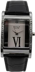 ساعة يد للجنسين من اوماكس ، انالوج بعقارب ، فضي
