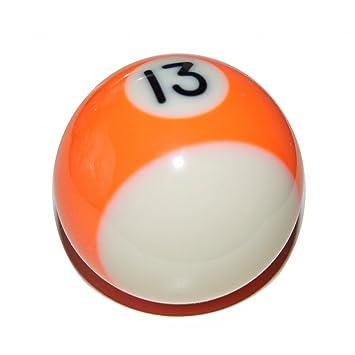 52ebc49863 Van Pool Ball Gear Knob (13 Ball - Orange Stripe)  Amazon.co.uk  Car ...
