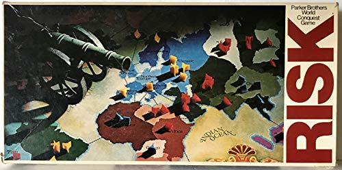 Parker Brothers Vintage 1975 Risk World Conquest Board Game
