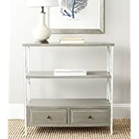 Safavieh American Homes Collection Chandra French Grey and White Smoke Console Table
