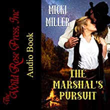 The Marshal's Pursuit Audiobook by Micki Miller Narrated by Kevin Iggens