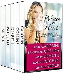 Women of Heart: Five Inspirational Women's Fiction Novels