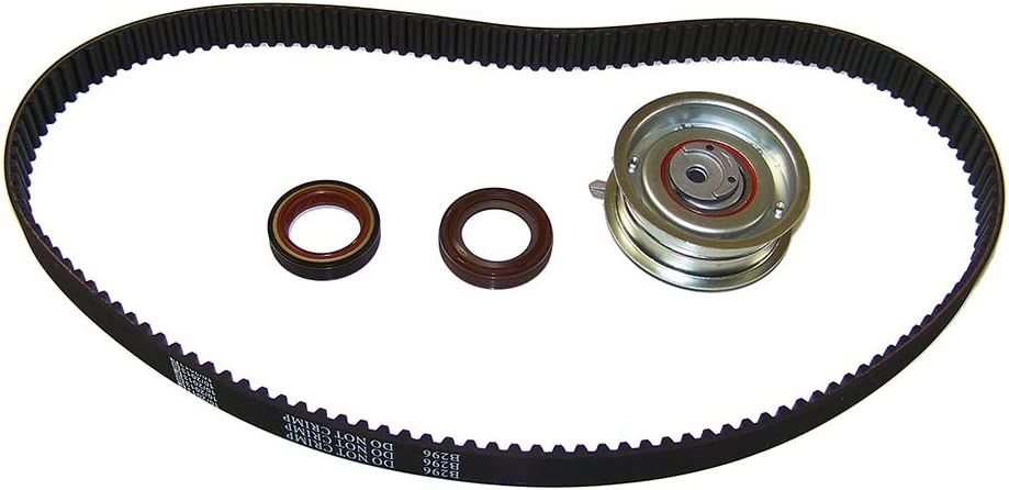 AZG AVH BBW BDC Jetta // 2.0L // SOHC // L4 // 8V // 121cid // AEG Golf BGD DNJ TBK809 Timing Belt Kit for 1998-2006 // Volkswagen//Beetle BEV