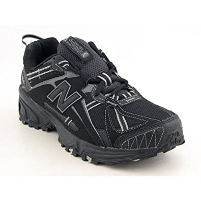 e185d427af730 Amazon.com | NEW BALANCE MENS MT411BG 4E WIDE RUNNING SHOES BLACK GREY SIZE  8 | Trail Running