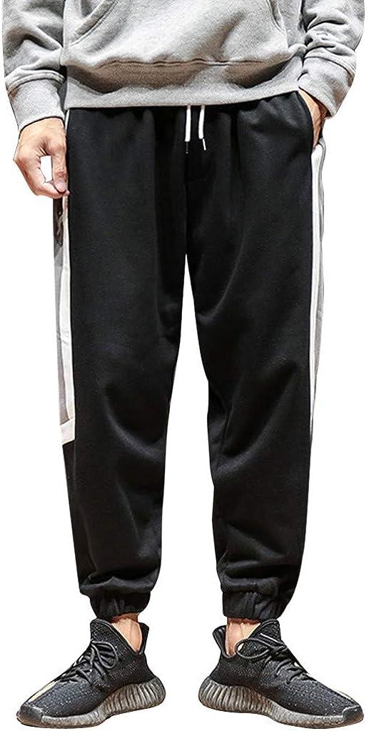 Pantaloni Uomo,Momoxi Pantaloni Estivi da Uomo Casual da Jogging Sportivi in Lino Larghi Nuovi alla Moda Street Primavera Allentato pi/ù Dimensioni