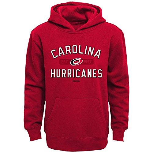 (Outerstuff NHL Carolina Hurricanes Boys Youth Todays Highlights Fleece Hoodie, Medium/(10-12), Red )