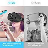 VR Headset Compatible with Nintendo Switch, OIVO 3D