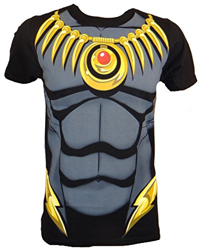 [Black Panther Costume 30 Single T-Shirt- Small] (Black Panther Costume Marvel)