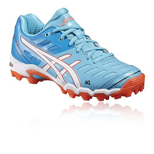 Asics Gel-Hockey Typhoon 2 Womens Hockey Scarpe Sportive Sneakers Trainers Aqua, Aqua, S