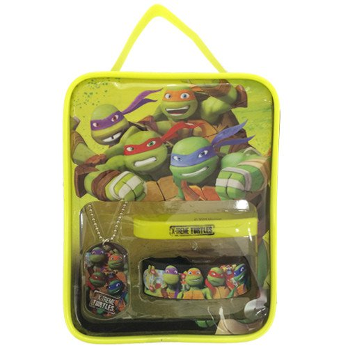 Ninja Turtles Dog Costumes (Teenage Mutant Ninja Turtles Gift Set and Bonus TMNT Bag)