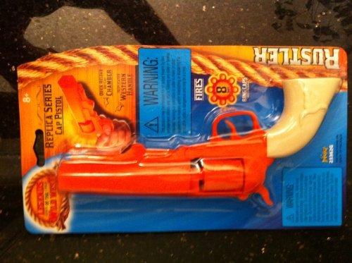 Legends of the West Rustler Replica Shot Gun (fires Shot Ring Caps) (Legends Of The Wild West Toy Gun)