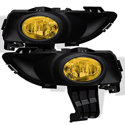 - For 2004 2005 2006 Mazda3 Mazda 3 4DR JDM Yellow Amber Lens Bumper Driving Fog light Assembly