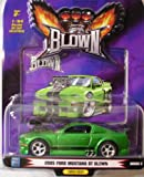 1 Badd Ride Blown Metallic Green 2005 Ford Mustang GT 1:64 Scale Die Cast Car