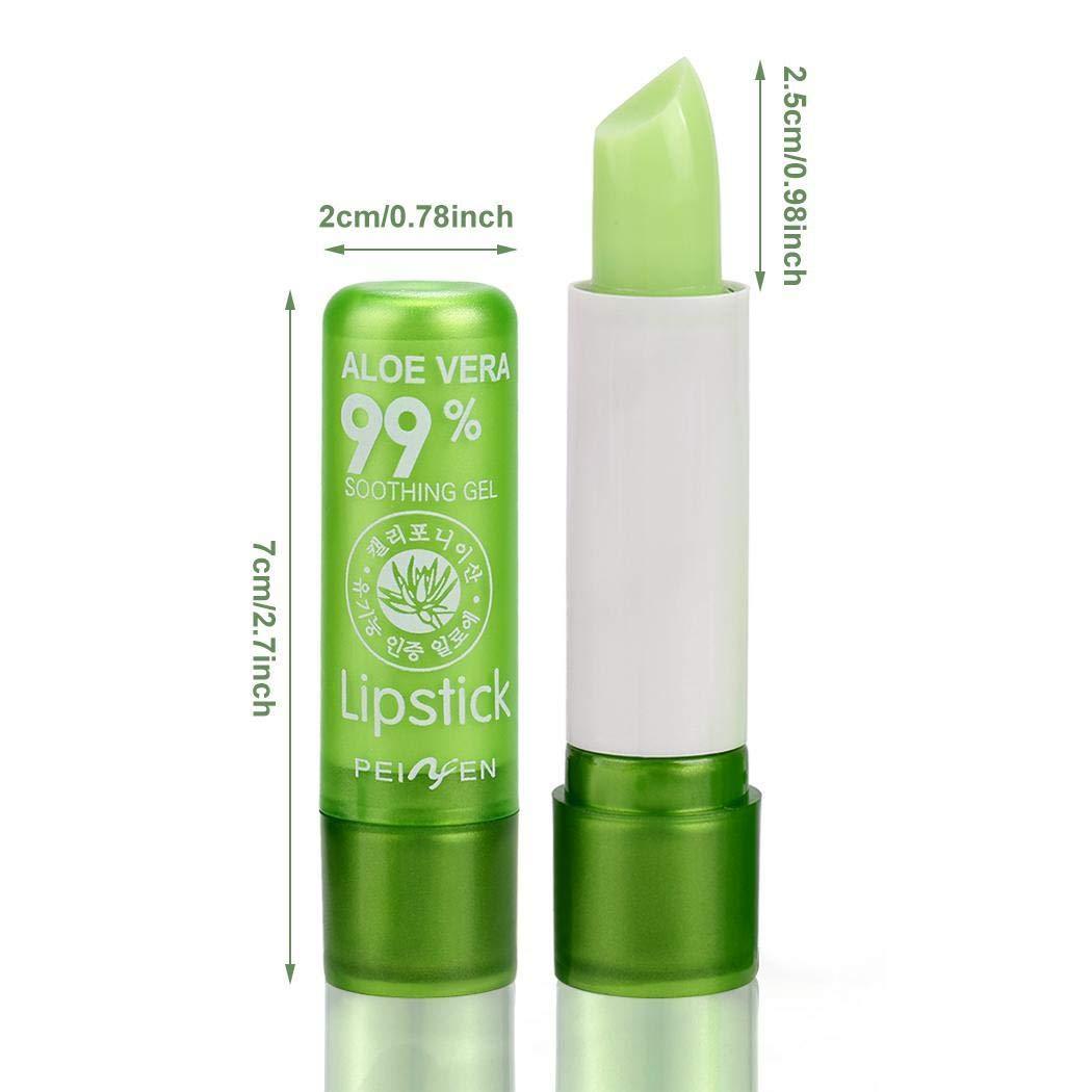Hello22 Aloe Vera Moisturizing Lipstick Color Changing Long Lasting 3.5g