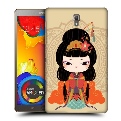 Head Case Designs Mei Hanfu Dolls Protective Snap-on Hard Back Case Cover for Samsung Galaxy Tab S 8.4 LTE T705 WIFI T700