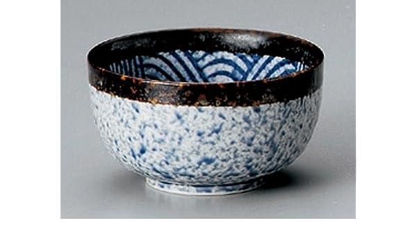 Amazon com | BLUE SEA & WAVE Jiki Japanese Porcelain Set of