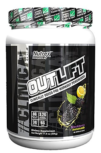 Nutrex Research Out Lift Supplement, Blackberry Lemonade, 506 Gram - 17.8 oz