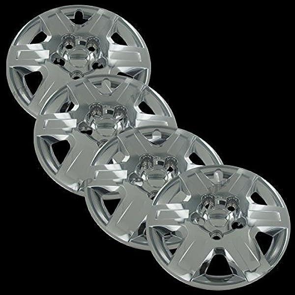 Replacement 16-inch Wheel Cover Fits Dodge Caravan 2008-2013 Premium Replica Hubcap Set 4 Pieces