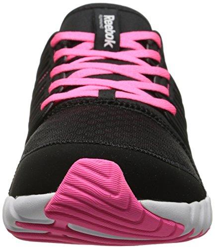 Zapatillas De Running Reebok Para Mujer Ts Run Black / White / Solar Pink