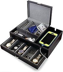 Admiral Dresser Valet Box