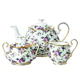 Royal Albert 40017572 100 years Teapot, 8', ENGLISH CHINTZ