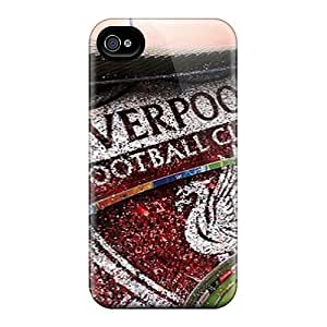 Iphone 4/4s SJL18944DyQD Custom Stylish Liverpool Pictures Scratch Protection Cell-phone Hard Covers -ColtonMorrill