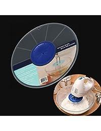 PickUp 12 Inch Mixing Bowl Splatter Guard Egg Bowl Plastic Cover Baking Tool opportunity