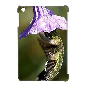 3D Print Cute Animal Hummingbird Background Case Cover for Retina iPad Mini(iPad Mini 2)- Personalized Hard Back Protective Case Shell-Perfect as gift