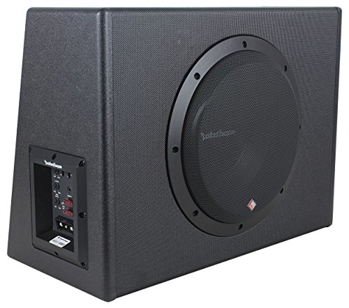 Rockford Fosgate P300-10 10'' 300W Sealed Powered Subwoofer/Sub Enclosure+Amp Kit by Rockford Fosgate (Image #2)