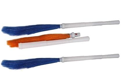 Zero Dust Detachable Plastic Broom(03 pcs.)