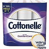 Cottonelle Ultra ComfortCare Toilet Paper, 36 Mega Rolls, Soft Bath Tissue