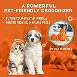ANGRY ORANGE Pet Odor Eliminator for Strong Odor