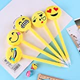 vhs with 8mm insert - AA Emoji Face Plush Pen Cute Cartoon Ballpoint Creative Stationery Student Gift