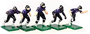 Tudor Games 3-31-D NFL Home Jersey - Baltimore Ravens Hand Painted 11 Electric Football Players, Multicolor (Pack of 11)