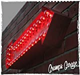 Lighted Exclamation Marquee Arrow Sign