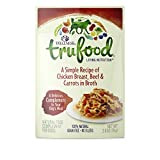 Wellness TruFood Complements Natural Grain Free Wet Raw Dog Food, Chicken, Beef & Carrots, 2.8-Ounce Pouch by Wellness Natural Pet Food
