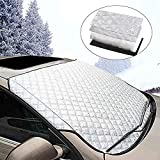 Windscreen anti-snow, foldable windscreen, anti-snow, foldable for normal vehicles, ice protection films in all weather, 145 x 99 cm