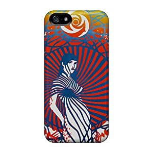 Scratch Protection Hard Cell-phone Case For Iphone 5/5s With Support Your Personal Customized Attractive Grateful Dead Series DrawsBriscoe