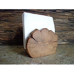 Wooden Napkin Holder, Natural Branch Napkin Holder, Rustic Paper Napkin Holder, Desk Napkin Holder,Picnic Holder