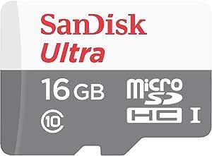 Cartão de Memória SanDisk Micro SD, 16Gb