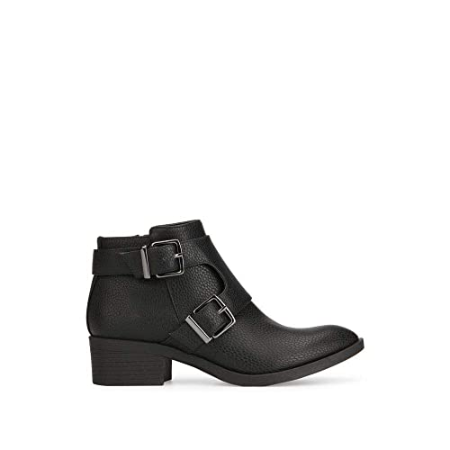 941483502ff Kenneth Cole REACTION Women's Re-Buckle Moto Ankle Boot