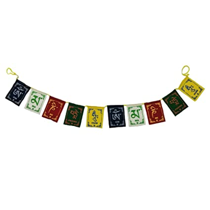 Buy Divya Mantra Tibetian Buddhist Prayer Flags For Car Online At