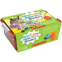 Nonfiction Sight Word Readers Classroom Tub Level C: Teaches the Third 25 Sight Words to Help New Readers Soar...