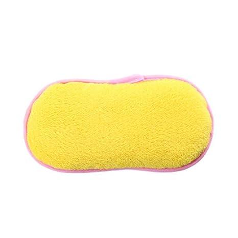 Toallas de limpieza para la cocina del hogar Paño de limpieza Set de 6 amarillas