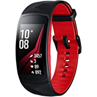 Samsung SM-R365NZRAXSA Smart Watch Gear Fit2 Pro Fitness Band (Australian Version), Red