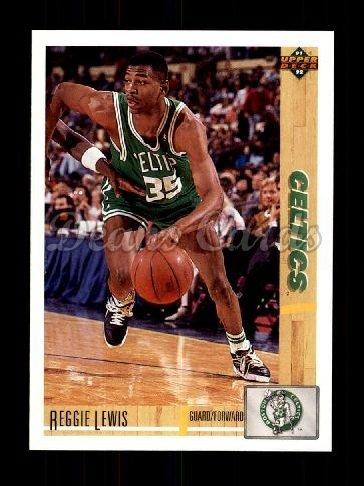 1991 Upper Deck # 123 Reggie Lewis Boston Celtics (Basketball Card) Dean's Cards 8 - NM/MT Celtics