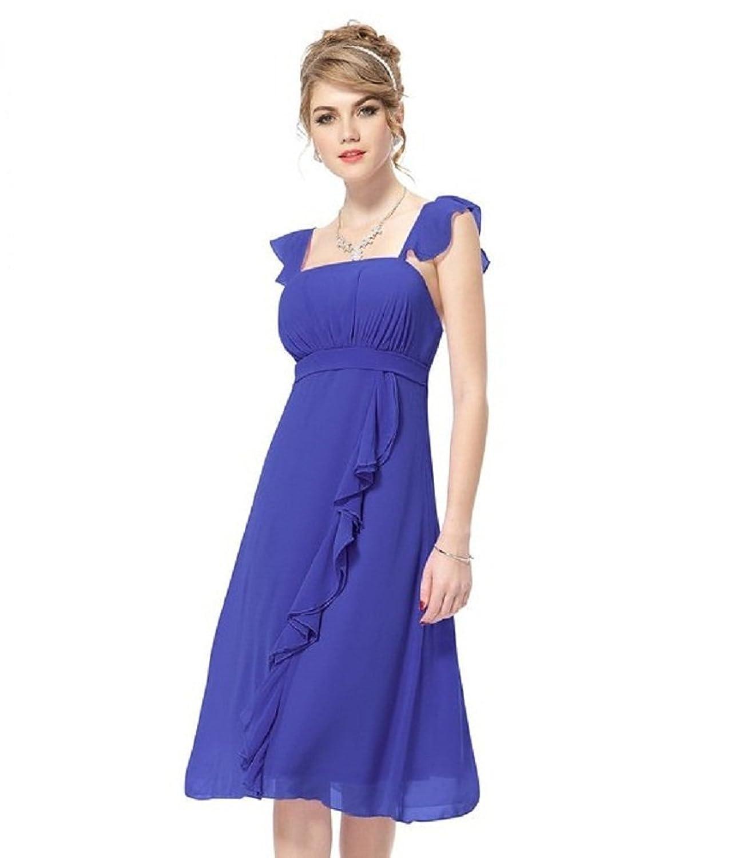BOMOVO Damen Sommerkleid Elegant Design Celebrity Business ...